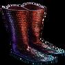异色鞋 (火闪)