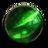 翠绿守望石